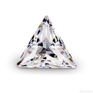 0 .1ct ~ 3 .0ct (3 0,0 millimetri ~ 0,0 millimetri 9) Trillion Cut diritta forma di triangolo con certificato D / F Colore purezza VVS Perfetto 3EX Cut Lab diamante Moi