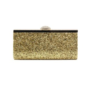 fashion shiny evening bag glitter flash material clutch bag for wedding party annual meeting