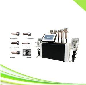 6 in 1 spa butt lift machine vacuum laser lipo ultrasonic cavitation slimming machine