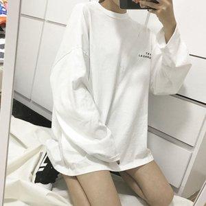 oTR22 Hong T-shirt à manches longues style talonnage des femmes à l'automne 2020 Hong Kong Kong T manches style talonnage femmes Longshirt shirtin Autum