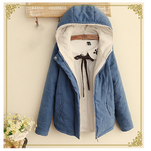 2020 New Luxury Designer Men's Padded Jacket Winter Japanese Small Fresh Short Hooded Solid Color Warm Student Cotton Jacket