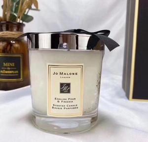 Listo Stock Malone Londres Navidad Crazy Candle Fragrance 200G High QualityCandles Inciense Perfume Caja de regalo Envío Gratis