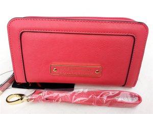 Hohe Qualität KK Brieftasche Lange Design Geldbörse PU Leder Kartenhalter 3 Farben Haspe Damen KK Lange Brieftasche Ändern Sie Geldbörse High-Grade-Handtasche