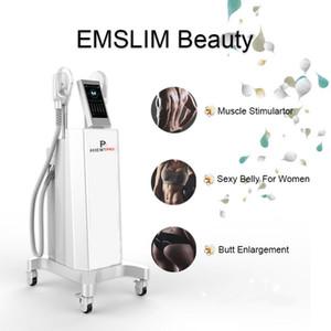 Painless Electro Magnetic Muskelstimulation Shaping Fettabsaugung EMSlim Maschine Druckkörper dünne Maschine Freies Verschiffen