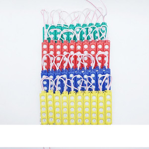 Waterproof 5730 5LEDs Injection Molding LED Module Super Bright LED Modules Lighting Red Green Blue Yellow Warm White White