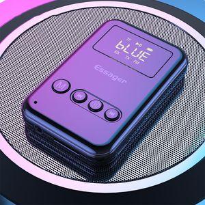 Receptor e Transmissor de Áudio Bluetooth 5.0, Adaptador Auux Audio 3.5mm Sem Fio para PC, TV, Fones de Auscultadores, Carro, Receptor Bluetooth 5 0 0