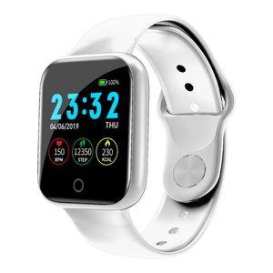 Smart Sport Men Women Watch I5 Heart Rate Blood Pressure Bracelet Fitness Tracker Monitor Color Call Sms Music Band Pk B57 G50 jllnsd