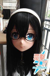 Máscaras (Raigeki MAKS 13) Resina 3/4 Japón Mujer / muchacha Kigurumi Crossdress Cosplay Anime T200519 Papel MUÑECA de BJD Crossdresser Lolita Cos Hea Svpj