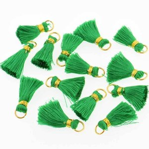 10pcs Lot 2cm Mini Silk Tassel Fringe Couture Bang Tassel Couper Tassel Tassels pour Bricolage Pendentif Embellish Rideau Accessoire Parts H Jllkob