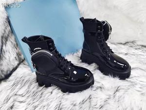 2021 короткие сапоги толстые нижние сапоги Martin модный комфортный кожаный материал передний водный стол, 5см высокий каблук. Size35-41Origina Box