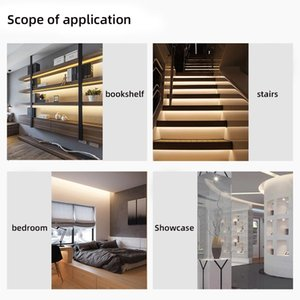 Led Smart Sensor Light Strip 1m 2m Flexible Waterproof Bedroom Cabinet Light Strip 2835 Dc 5v Infrared Sensor Light Strip Swy sqcuIS