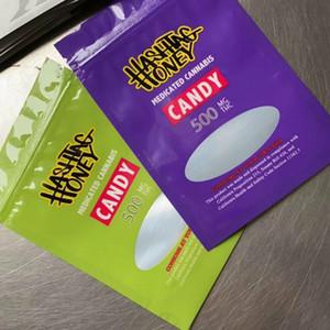 Novo 2020 Bacio Gelato Assado Bros Hashtag Mel Hashtag Medicated 500mg Sacos de Doces Embalagem Médica Saco Vazio New Lol Edibles Cookies Runtz Rozay