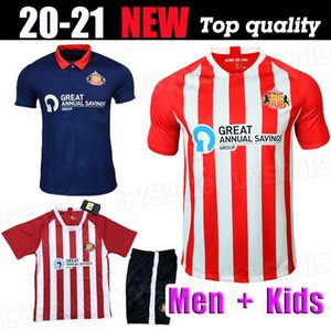 Nuovo Top Thailandia 20 21 Sunderland Home Red Maguire Soccer Jersey 2020 2021 Power Watmore McNulty McGeady Grigg Leadbitter Camicie da calcio