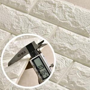 Papel de parede Stereo impermeável de fundo papel de parede 3D Stone Brick Wall Stickers criativa Sala Hotel Estudo Wallcovering DBC DH1157