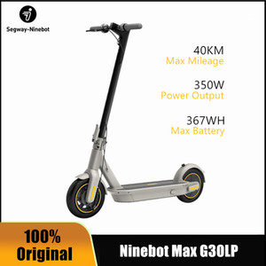 2020 New Original Ninebot Max G30LP Electric Kickscooter Smart Foldable Kickscooter Foldable Skateboard 30km h 40km 10inch wheel