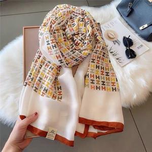 Algodão e linho lenço para o Outono mulheres e inverno novo estilo selvagem longo de dupla utilização xale enorme lenço morno S126