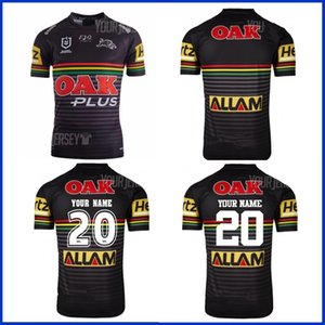 2020 PENRITH PANTHÈRES RUGBY HOME JERSEY INDIGENOUS RUGBY HOME FORMATION taille JERSEY S-M-L-XL-XXL-3XL-4XL-5XL