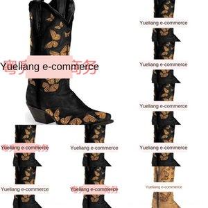 j2zx Leder Sale-2019 Mann Paris Lukas Boots Genuine Reißverschluss Hot Spitzschuh aus Wildleder Fashion Show Qualität Stiefel Schuhe