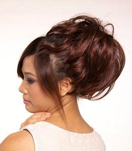 Hair Stück Haarkamm Synthetische Faserblondine ACC trägt eine bequeme Befreiung von guter Qualität vom Porto 7cm