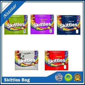 Quilles 400mg mylar sac vide Souve à glissière de fermeture à glissière d'emballage d'emballage de pochettes d'emballage Package Gummies Stockage