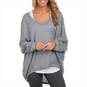 T shirt women 2020 new fashion patchwork Europe long sleeve Loose T shirt womens Clothing Vestidos LBD649