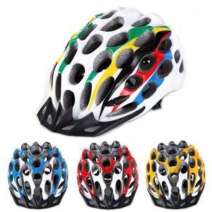 Casco de ciclismo Ultralight EPS + PC Mountain Road MTB Casco Ajustable Bicicleta Casco de bicicleta para deportes al aire libre Casco Ciclismo
