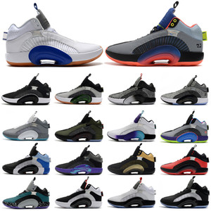 2020 New Mens Shoes 35S Jumpman Basketball Shoes 35 XXXV SPORTS Sneakers Centro de Gravidade DNA Morpho Sisterhood Sapatos Esportivos