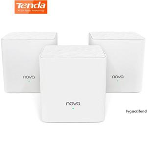 Tenda Nova MW3 Mesh Wifi Система AC1200 Dual-Band 2,4 / 5 ГГц беспроводной маршрутизатор для всего дома Wi-Fi Широкий диапазон охвата APP Управление