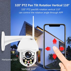 1080P PTZ IP Camera Auto Tracking Speed Dome WiFi Wireless CCTV Camera Outdoor Security Surveillance Waterproof