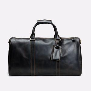 Quality Men Duffle Bag Women Travel Bags Hand Luggage Luxury Designer Travel Bag Men PU Leather Handbags Large Cross Body Bag Totes 55cm
