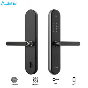 Original Mijia Aqara S2 Fingerprint Smart Door Lock Work With Aqara Home App Keyless Lock For Xiaomi Mi Home APP Smart Home Kit