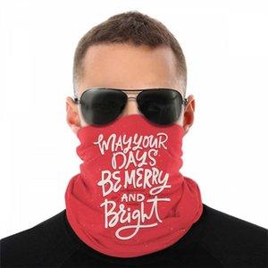 Handdrawn Noel Spor mutilfunction Kamuflaj Bandana Açık Şapkalar Lüks Bantlar Eşarplar Bandana Dikişsiz Maskeler Handdr Jsek
