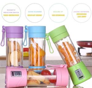 380ml Portable Blender Juicer Cup Usb Rechargeable Electric Matic Smoothie Vegetable Fruit Citrus Orange Juice wmtyBs mywjqq