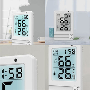 Multifunctional Digital Clock LED Large-Screen Display Has The Function Of Time And Date Alarm Clock Indoor Thermometer Hygromet 173 K2