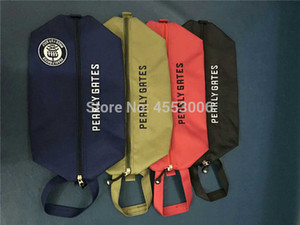 New Portable Golf Shoes Bag Pearly Gates Outdoor Sports Zipper Golf Ball Marker Bag 4 Colors Free Shipping 201022