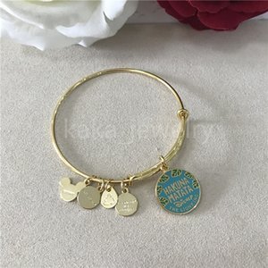 2021 New Style Wholesale Fashion New Arrival Amerian Style The Lion King Bangle - Alex And Ani Charms Bangle Bracelet For Women