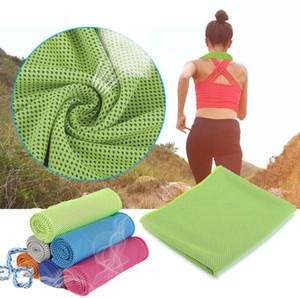 다채로운 냉각 수건은 고급 하이퍼 흡수성 냉각 스포츠 수건으로 멋진 골프 수건 체육관 및 스포츠 타월 DHL