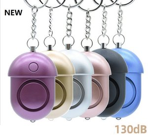 NEW 130db Personal Security Alarm Keychain Safety Emergency Alarm with LED Light and SOS Emergency Alarm for Elders Women Kids dhl free