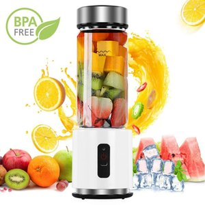 BPA FREE USB rechargeable Smoothie verre Blender Batterie 380ml personnelle Smoothie Juicer Blender Portable Facile Petit