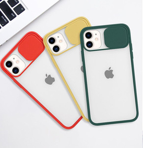 Wholesale Slide Camera Cover CamShield Lens Protection Case for iPhone 12 Mini 11 Pro XS Max XR 7 8 Plus S20 Ultra