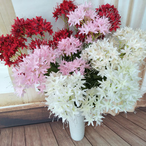 Boda artificial Road Flower 4 Forks Body Party Road Home Decorative Flowers Festival Decoración del hogar Flower DHA3199