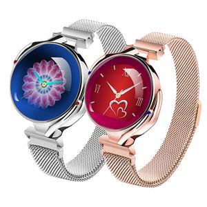유행 여성 스마트 시계 Z38 블루투스 건강한 방수 심박수 혈압 모니터 Smartwatch 선물 숙녀 시계 팔찌