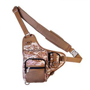 Multifunctional Shoulder Gear, Fishing Waterproof Bag, Outdoor Tactical Mountaineering Backpack, Portable