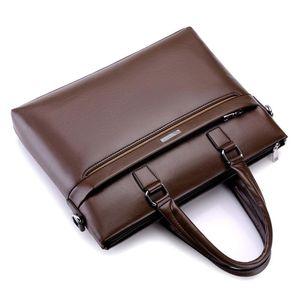 Men's handbag cross men's business briefcase file bag explosion