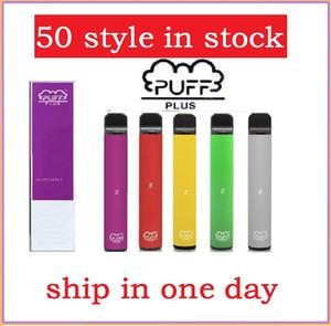 Barra Puff mais nova mais 800 + Puffs descartáveis Vape Pen 550mAh Bateria 3.2ml PODs Cartuchos Pré-preenchidos E Cigs Edição Limitada vs Onee