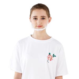 Maskeler Sağlık Şeffaf Chef Mutfak Tutucu Karşıtı Çene Sis İçin Plastik Gıda Otel Special Restaurant jllDCA homecart