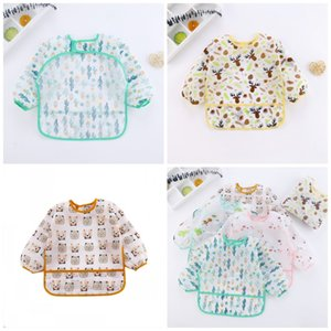 Children Smocks Baby Bibs Autumn And Winter With Rice Trough Protective Clothing Flamingo Cloth Girls Boys Coverslut6 9tt I2