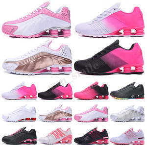 Shox Deliver Avenue 2019 Доставка 809 кроссовок для мужчин, женщин Тройных белых черного Muticolor Mens DELIVER OZ NZ Кроссовки Кроссовки 36-40