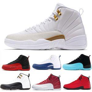 Nike Air Jordan 12 12s hiberné WNTR CNY Gym Red Michigan Hommes Chaussures de basket-Royal Game Le Master Jeu Flu Taxi 12 Les formateurs Les ailes de pierre Bule