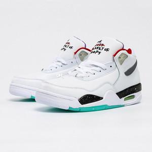 Volo 89 scarpe da basket per uomo Sport scarpe da uomo Sneakers da uomo Sneaker uomo Atletico Chaussures Sport Atletica Atletica Chaussure Bianco